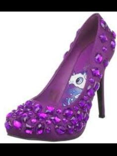 Purple Diamond Stilletos