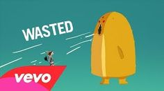 wasted // lyric video