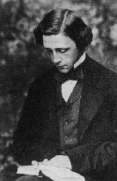 This is Charles Dodgson or, better known as, Lewis Carroll, author of the books Alice's Adventures in Wonderland and Through the Looki...