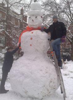 Big Snowman, Britain