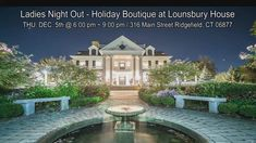 Holiday Boutique, Wine Food, Ladies Night, Main Street, Fun Activities, Night Out, Wedding Venues, Join, Dessert