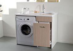 Uno dei mobili più apprezzati dalle donne italiane? Il mobile lavatoio! Vi spieghiamo perché: http://www.arredamento.it/il-mobile-lavatoio.asp #mobili #lavatrice #bagno