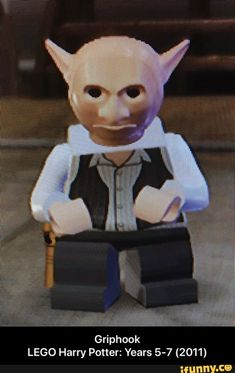 Griphook LEGO Harry Potter: Years 5-7 (2011) - Griphook                                                                                   LEGO Harry Potter: Years 5-7 (2011)  – popular memes on the site iFunny.co #harrypotter #movies #legogames #legoharrypotter #griphook #lego #harry #years #meme