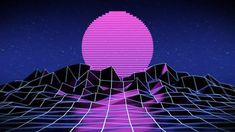 Aesthetic Colors, Retro Aesthetic, Aesthetic Pictures, New Retro Wave, Retro Waves, Vaporwave Art, Neon Wallpaper, Glitch Art, Moonrise Kingdom