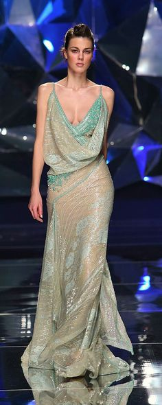 Abed Mahfouz Spring-summer 2009 - Couture - http://www.orientpalms.com/abed-mahfouz-858