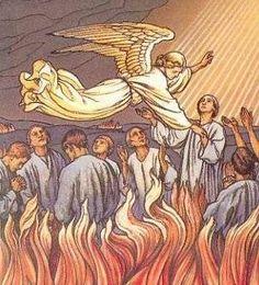 PRINCIPALES FIESTAS CATOLICAS: Cómo las ánimas del Purgatorio nos auxilian