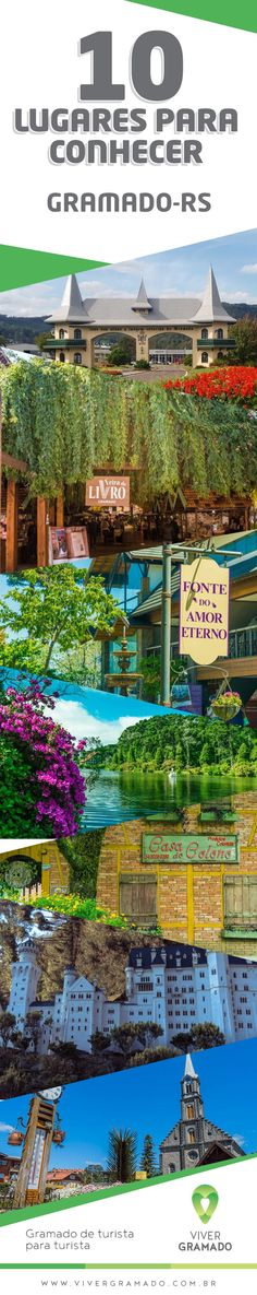 10 lugares que você não pode deixar de conhecer em Gramado #dica
