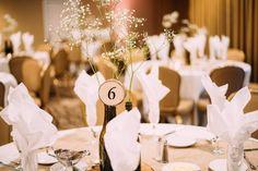 24 Wedding Table Numbers, Wedding reception decor, Rustic Wedding, Farmhouse Wedding, Log Slice Table Numbers, Tree Branch, GFTwoodcraft