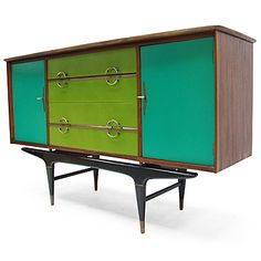 Fears and Kahn, Moretti Sideboard, refurbished 1960s