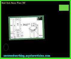 Wood Duck Houses Blueprints 175951 - Woodworking Plans and ...