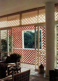 Cobogós de apartamento no Parque Guinle, Laranjeiras, Rio de Janeiro. Parque com complexo residencial projetado por Lúcio Costa nos anos de 1950 - Pesquisa Google