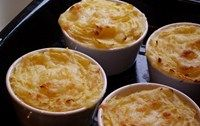 Make a batch of 6 of these individual fish pies and keep them in the freezer, suitable from 9 months