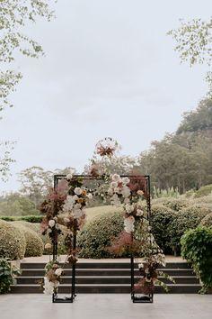 Wedding Arbors, Wedding Ceremony Backdrop, Marquee Wedding, Flower Bouquet Wedding, Floral Wedding, Fall Wedding, Elegant Modern Wedding, Backdrops, Wedding Decorations