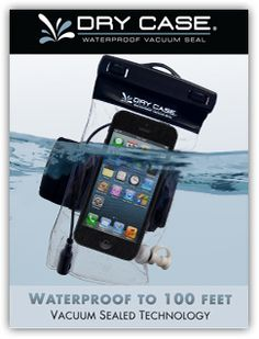 Are you going to vacation at the beach?  Waterpark?  You NEED one of these!! Waterproof iPhone case~ also for Droids and tablets! #HomeGrownTravels