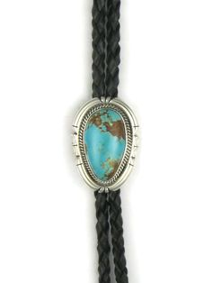 Southwest Silver Gallery features a genuine Number 8 turquoise bolo tie by Native American artist, Joe Piaso Jr. Native American Artists, Native American Jewelry, Turquoise Stone, Turquoise Jewelry, Number 8, Bolo Tie, Cowboy And Cowgirl, 1 Oz, Cowboys