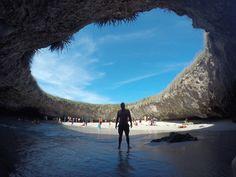 Isla Marietas, 'Hidden Beach'