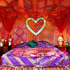 Glamping Boudoirs by The Arabian Tent Company
