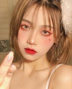 Makeup Korean Style, Korean Natural Makeup, Korean Eye Makeup, Asian Makeup, Cute Makeup, Pretty Makeup, Beauty Makeup, Makeup Looks, Hair Makeup