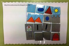 Rincón de una maestra: Puzle de castillo