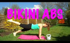 NEW VIDEO // Spring Into Shape Bootcamp // BIKINI ABS WORKOUT // Week 3!   Get your very own bikini abs for summer! Train along with me in the garden & feel fabulous on the beach!!! xxxx