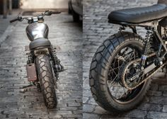 NYC unrefined Bonneville ~ Return of the Cafe Racers