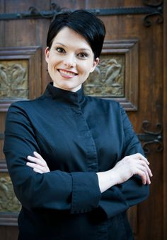 Serial expat and traveler Chantel Dartnell named South African Chef of the Year -- again Great Restaurants, Pixie Cut, Chefs, Circles, South Africa, Egg, Around The Worlds, African, Drop