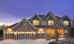"""#houseplan 73323HS is Called """"The Wow Factor"""". Might have something to do with the indoor basketball court.  Plans available for construction EXCLUSIVELY at Architectural Designs"""