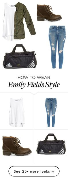 """Emily fields"" by allydilaurentes on Polyvore"