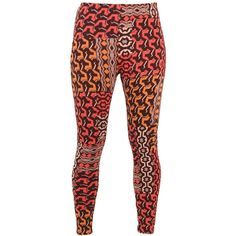Hippy Trousers LD16 Bohemian Ethnic Tribal African Print Leggings Fair... ❤ liked on Polyvore