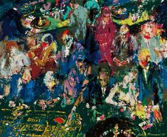Art for the Pop of It: Early 1958 painting by Pop Art icon LeRoy Neiman f...