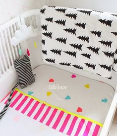 Eef Lillemor is a Dutch creative illustrator and kids stylist who has created an original range of children's products. Eef offers a rang. Cot Bedding, Interior Stylist, Bed Design, Floor Chair, Pattern Design, Print Patterns, Toddler Bed, Custom Design, Stationery