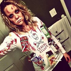 16 last minute halloween costumes literally anyone can pull off halloween is fast approaching which means its time to start thinking about your costume more information more information cereal killer ccuart Choice Image