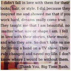 So true! Proud Rusher! <3