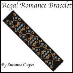 Regal Romance Bracelet Pattern at Sova-Enterprises.com