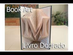 ▶ Folded Book Art using Photoshop. Arte feito de Paginas Dobradas. - YouTube