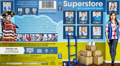 Superstore Season 1 Blu-ray Custom Cover