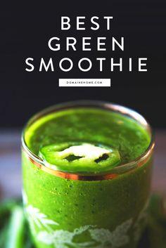 Spinach Mango Smoothie recipe