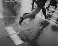 Rain by Agnieszka Szczepańska, via Behance