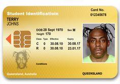 QLD novelty ID card #novelty #noveltyid #fakeid