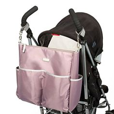 DIAPER BAG IN A COOL PINK ROSE COLOUR DESIGN: The best choice for mums aiming to carry the most important baby essentials in a stroller bag, while looking different from the rest with a unique and exclusive style. Ideal for Chic soft Pink bag lovers! Maternity Bags, Stroller Bag, Kids Lunch Bags, Toddler Backpack, Baby Diaper Bags, Baby Essentials, Bag Sale, Messenger Bag