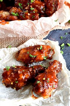A Thai-inspired baked chicken wing recipe that takes wings to a whole new level.  Mildly spicy, dripping with homemade sweet chili sauce, and baked to perfection.  A perfect crowd pleasing appetizer! A few months ago, I read a recipe for…