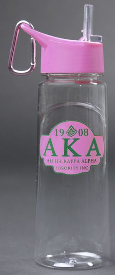 Alpha Kappa Alpha water Bottle