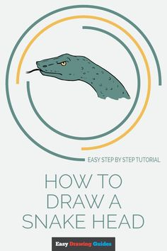 Snake Sketch, Snake Drawing, Craft Projects For Kids, Arts And Crafts Projects, Easy Animals, Draw Animals, Shark Tattoos, Drawing Tutorials For Kids, Popular Cartoons