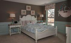 Fischer Homes Keller Girls Bedroom