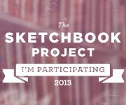 My 2012 sketchbook is going on a roadtrip! Fun initiative for artists' sketchbooks to travel across North America, to be archived at the Brooklyn Art Library, Brooklyn, NY.