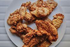 Stuffing-Fried Turkey Tenders