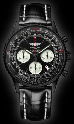 Breitling Navitimer Whatif - mens and womens watches, most popular mens watches, womens watch *ad Breitling Navitimer, Breitling Superocean Heritage, Breitling Watches, Amazing Watches, Beautiful Watches, Cool Watches, Watches For Men, Black Watches, Dream Watches