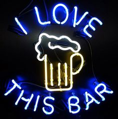 (Neon tube size is a little smaller than that, depend on the shape of the neon sign). We can make CUSTOM neon signs if you have the picture or provide your idea on the neon sign. hand-made, gas-filled, real glass tube neon signs! Neon Bar Signs, Custom Neon Signs, Neon Light Signs, Man Cave Neon Sign, Neon Lamp, Neon Nights, Beer Signs, Beer Bar, Neon Lighting