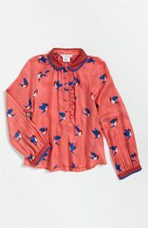 Love having a little girl so we can match!       LITTLE MARC JACOBS Bird Print Blouse (Little Girls & Big Girls)