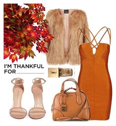 """""""Fall"""" by pintosel on Polyvore featuring Pinko, Stuart Weitzman, Topshop, Coccinelle, Yves Saint Laurent and imthankfulfor"""